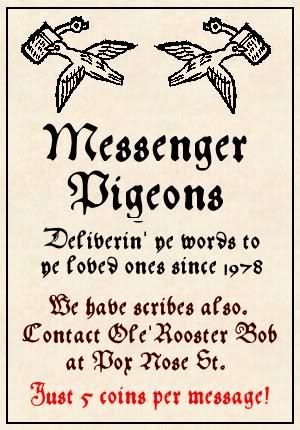 Posters for Mordheim Terrain! MessengerPigeons