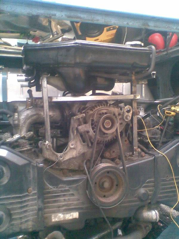 ..'76 Baywindow...briefly EJ20T now going superfly Tdi - Page 3 Chargecoolermount1