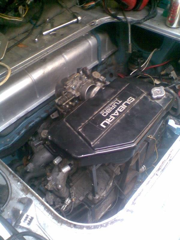 ..'76 Baywindow...briefly EJ20T now going superfly Tdi - Page 3 Chargecoolermount2