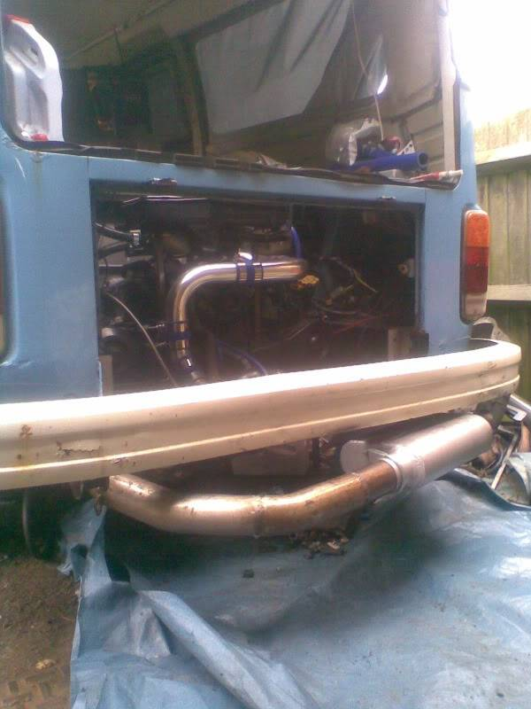 ..'76 Baywindow...briefly EJ20T now going superfly Tdi - Page 4 Rearend
