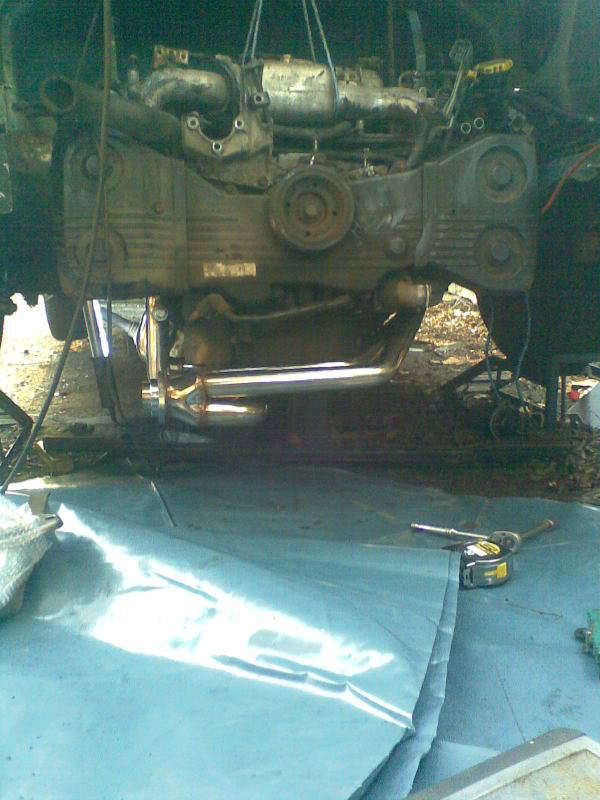 ..'76 Baywindow...briefly EJ20T now going superfly Tdi Setup3