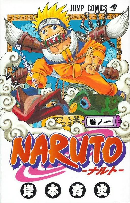 Volume Covers Naruto_Cover_Volume_01