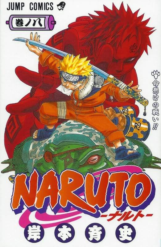 Volume Covers Naruto_Cover_Volume_08
