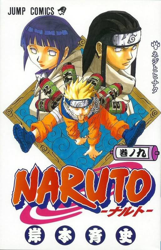 Volume Covers Naruto_Cover_Volume_09