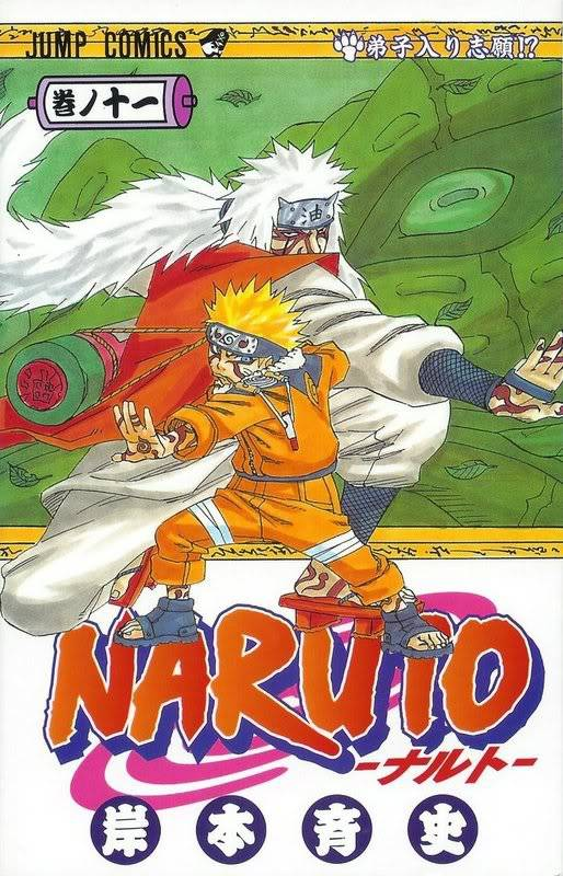 Volume Covers Naruto_Cover_Volume_11