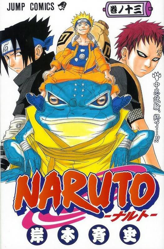 Volume Covers Naruto_Cover_Volume_13