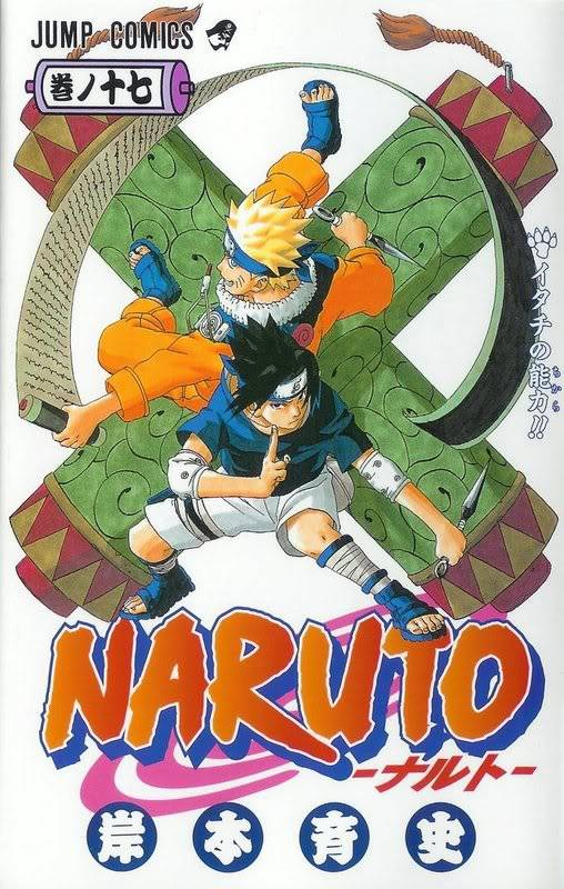 Volume Covers Naruto_Cover_Volume_17