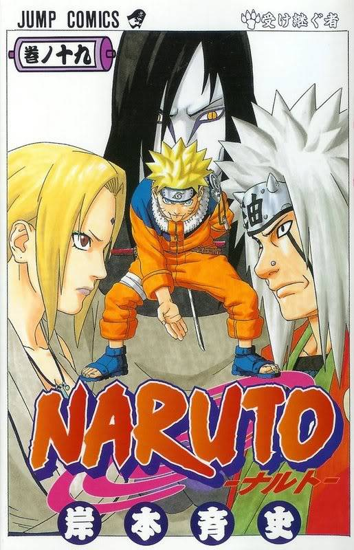 Volume Covers Naruto_Cover_Volume_19