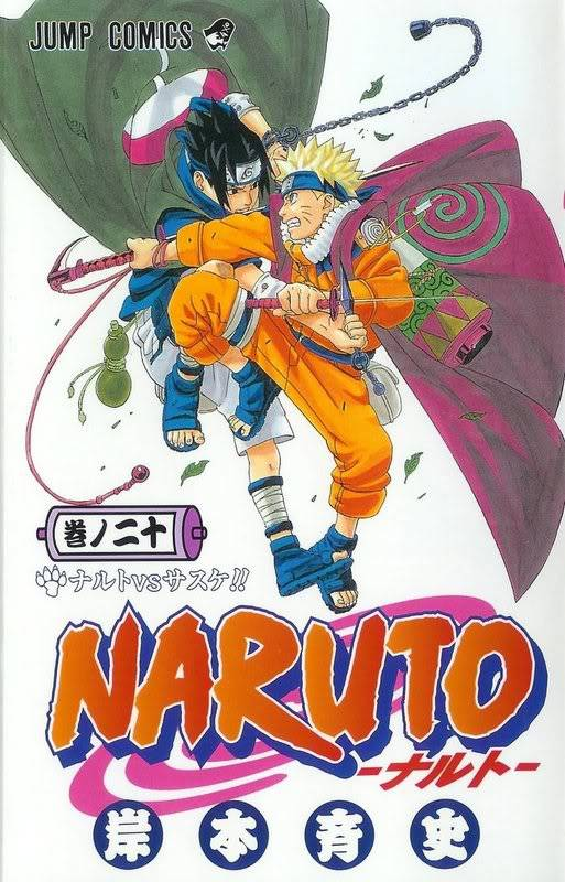Volume Covers Naruto_Cover_Volume_20