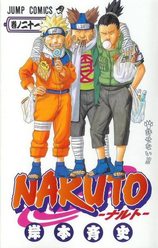 Volume Covers Naruto_Cover_Volume_21