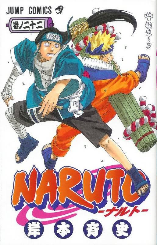 Volume Covers Naruto_Cover_Volume_22