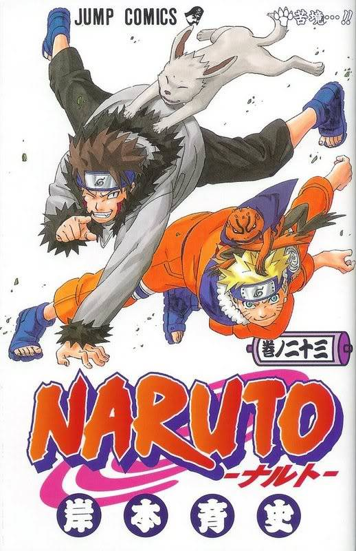 Volume Covers Naruto_Cover_Volume_23