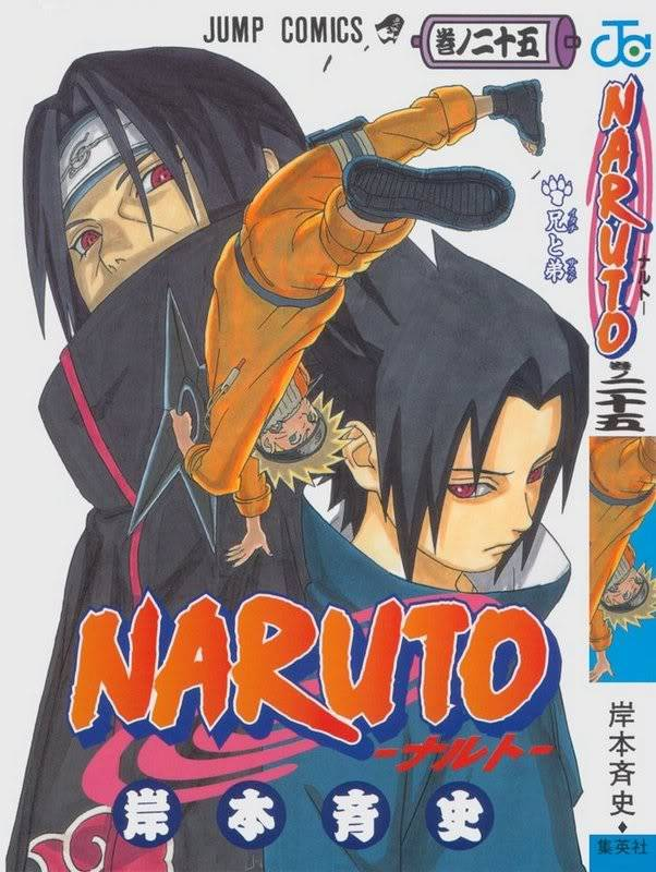 Volume Covers Naruto_Cover_Volume_25