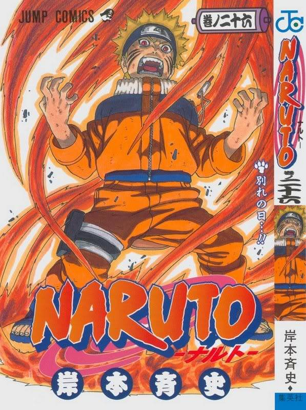 Volume Covers Naruto_Cover_Volume_26
