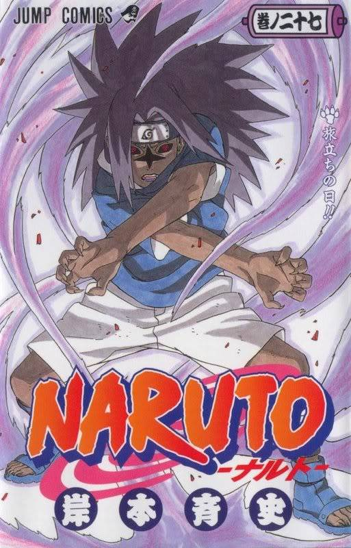 Volume Covers Naruto_Cover_Volume_27