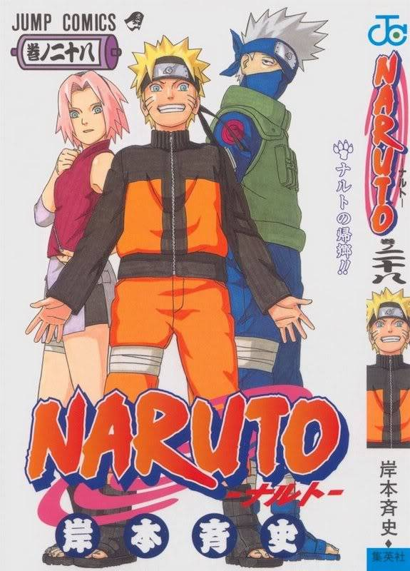 Volume Covers Naruto_Cover_Volume_28