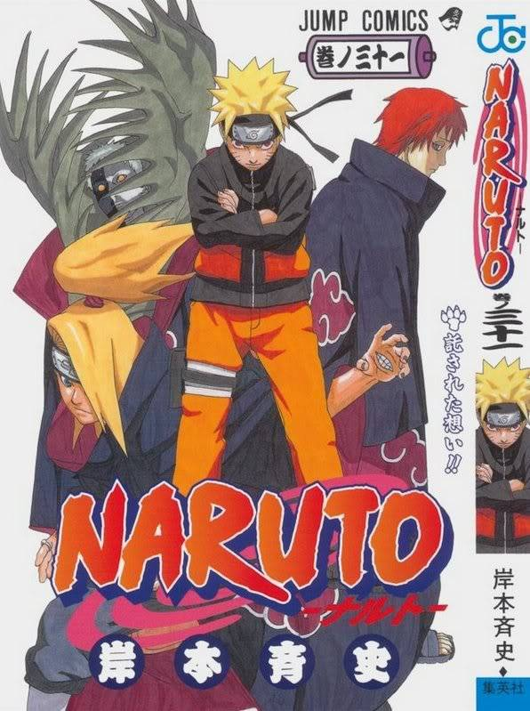 Volume Covers Naruto_Cover_Volume_31