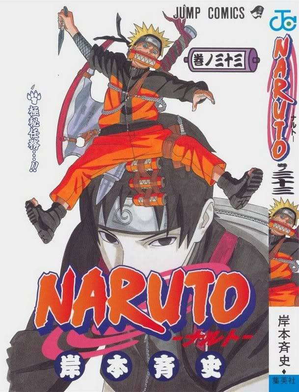 Volume Covers Naruto_Cover_Volume_33
