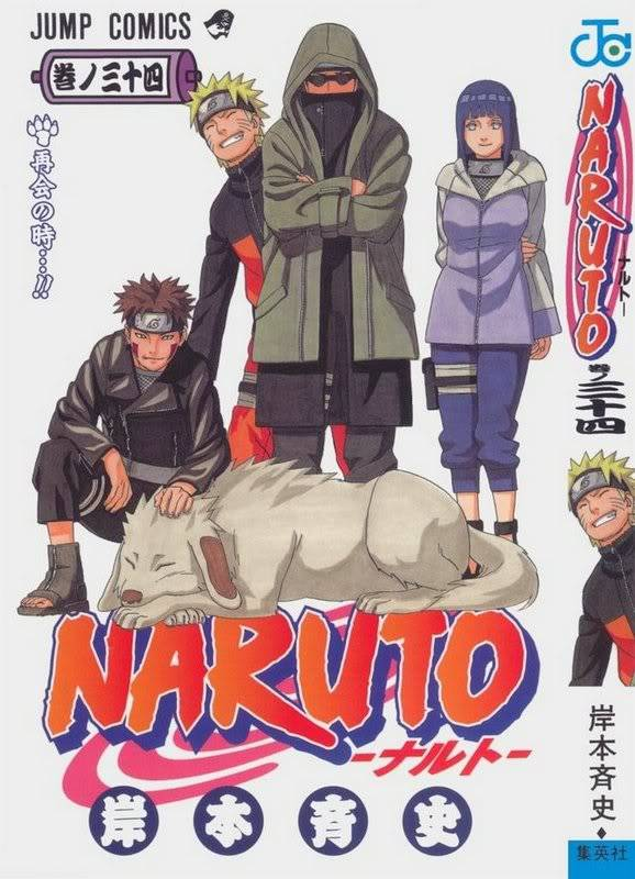 Volume Covers Naruto_Cover_Volume_34