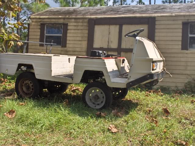 found a cheap go cart for sale ~ $600 (pitch in for the field?) Toys008