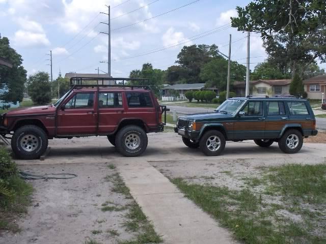 my old jeeps Xj002