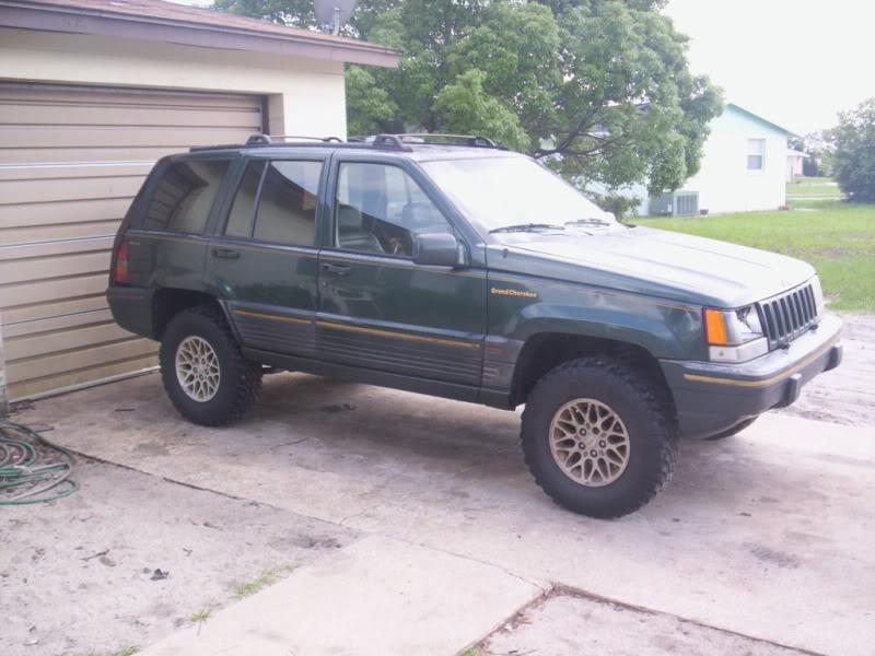 my old jeeps Zj005
