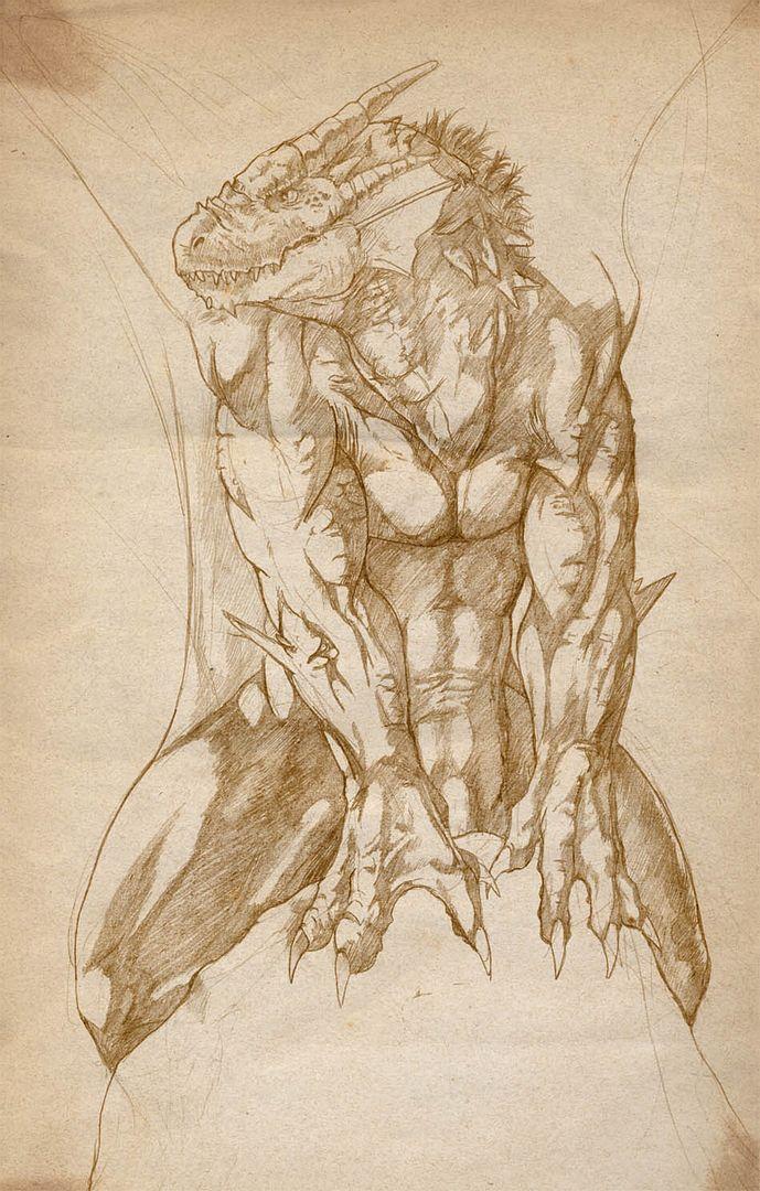 Algunas de mis Ilustraciones Dragon-1