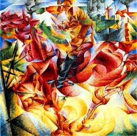 Haiku, Futurism, Impressionism Futurism-umberto-boccioni