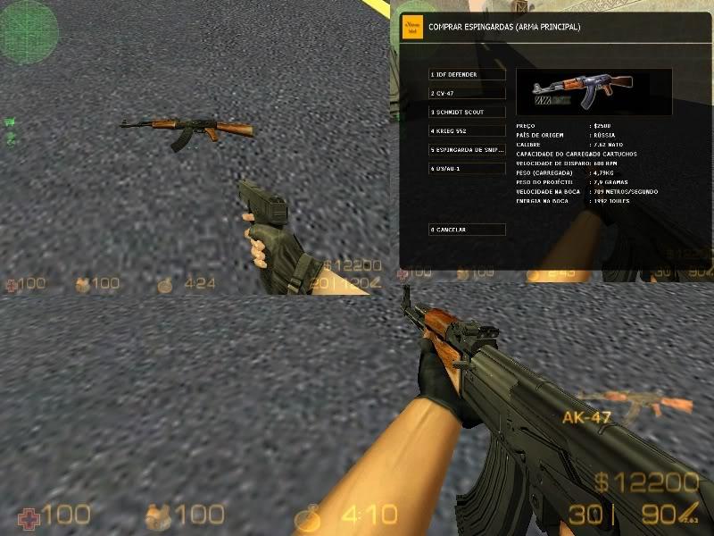 [PC] CS eXtreme Mod V.4 Ak