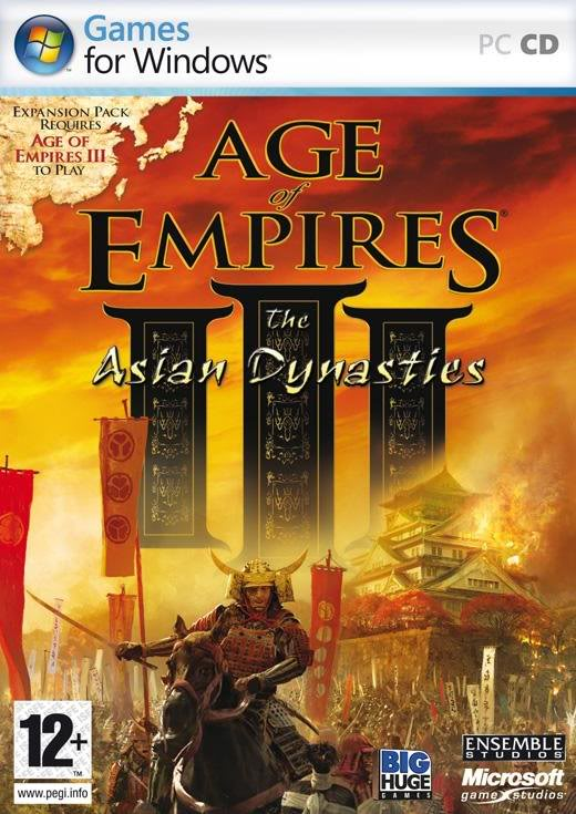 [DOWNLOAD][http] Trilogia - Age Of Empires Iii + The Warchiefs + The Asyan Dinasties 3-1