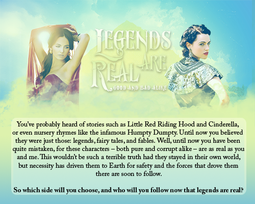 Legends are Real [Revamped] LARad