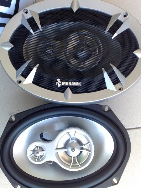 MOHAWK SILVER SERIES FOR SALE... MohawkSilver260Watt6x9Speaker