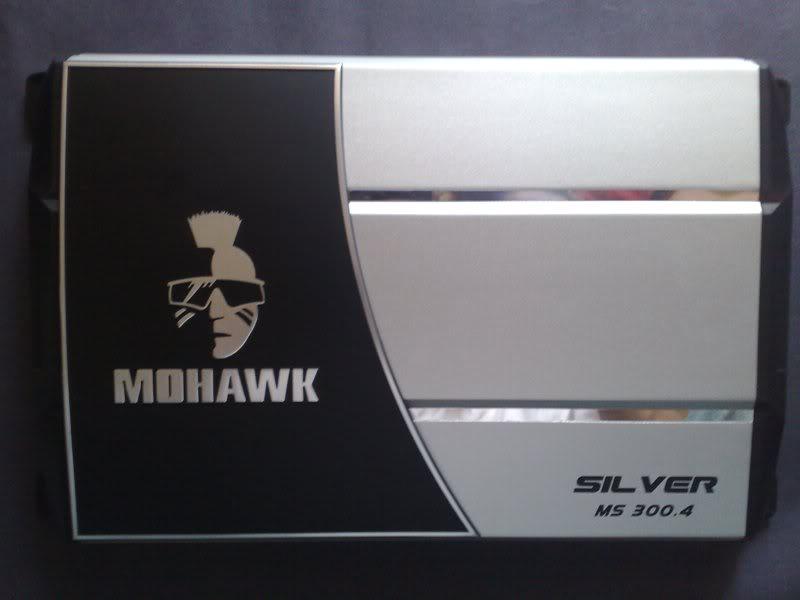MOHAWK SILVER SERIES FOR SALE... MohawkSilver300WattHighPowefulAmplifier