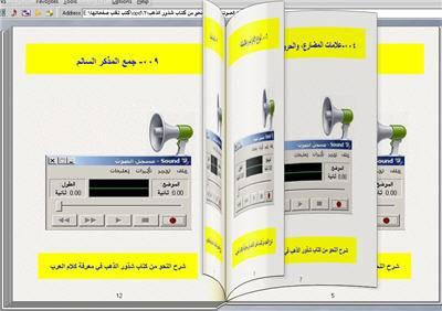 البرنامج الصوتي شرح النحو من كتاب شذور الذهب في معرفة كلام العرب للحاسب 3_zpswabvchr1