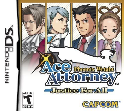 [DS] Phoenix Wright Ace Attorney:Justice for all [MU] 61FTNFXE81L