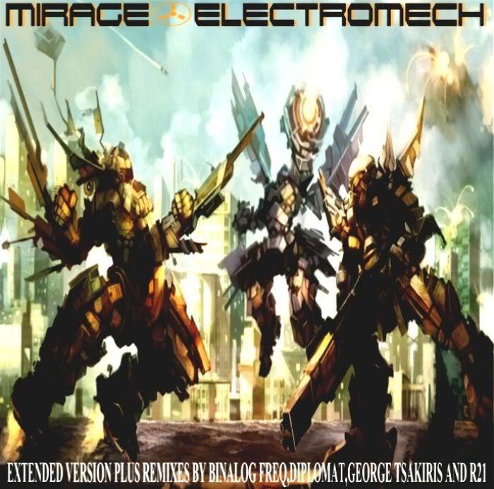 Mirage_Electromech Remixes_Binalog Productions Mirage-ElectroMechcover