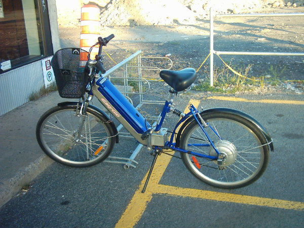 Vélo Solex débarque chez moi!!!! 13-6-1