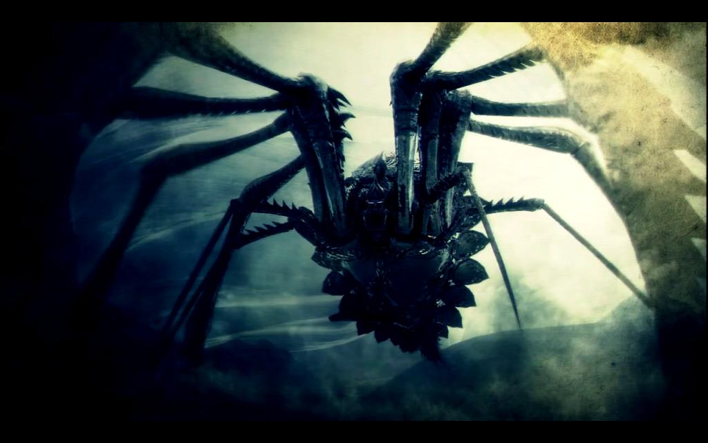 La Araña Acorazada un relato de Demon´S Soul por AjLukan. ArmorSpider