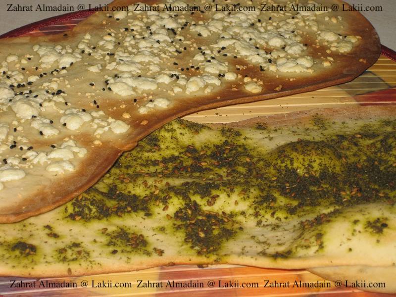 الخبز الارمني او قراقيش اللافاش 022