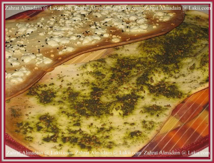 الخبز الارمني او قراقيش اللافاش 023-1-1