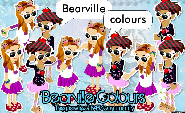 Bearville Colours