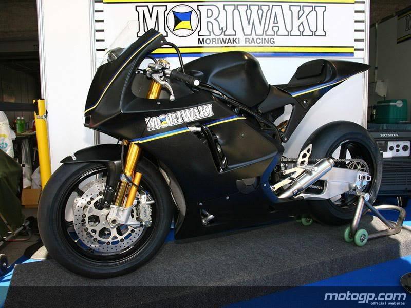 Moto2: Moriwaki testa em Suzuka Moriwaki2