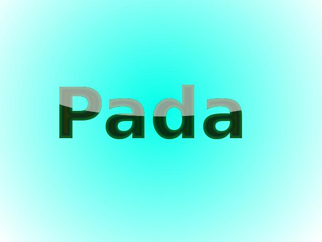 Gallery Pada-3d-text