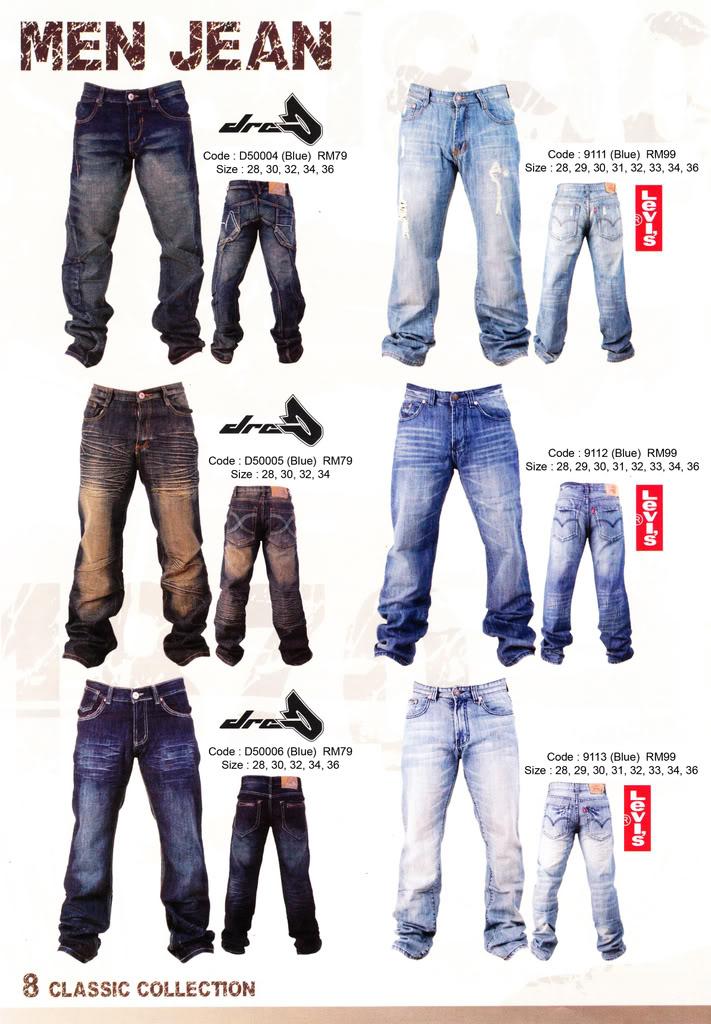 Pakaian, Kasut & Aksesori Lelaki, Wanita & Kanak2 MenJean