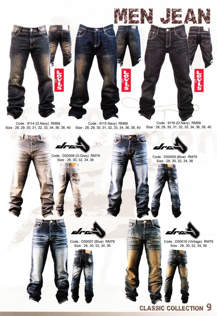 Pakaian, Kasut & Aksesori Lelaki, Wanita & Kanak2 MenJean2