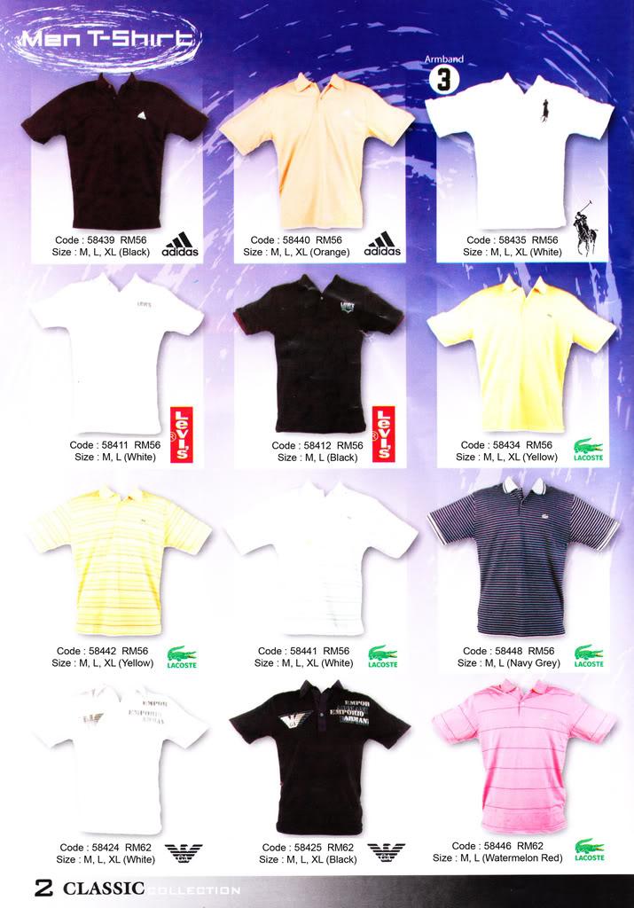 Pakaian, Kasut & Aksesori Lelaki, Wanita & Kanak2 MenT-Shirt2