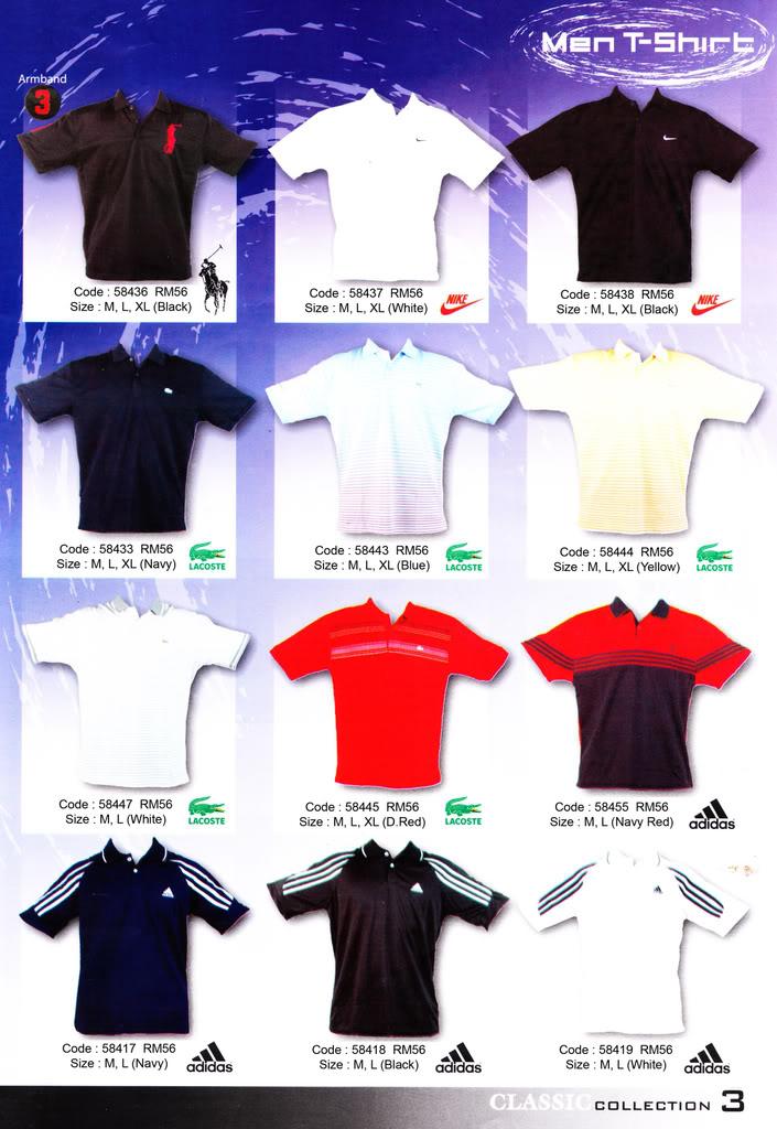 Pakaian, Kasut & Aksesori Lelaki, Wanita & Kanak2 MenT-Shirt3