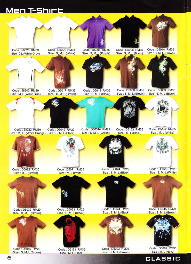 Pakaian, Kasut & Aksesori Lelaki, Wanita & Kanak2 MenT-Shirt6