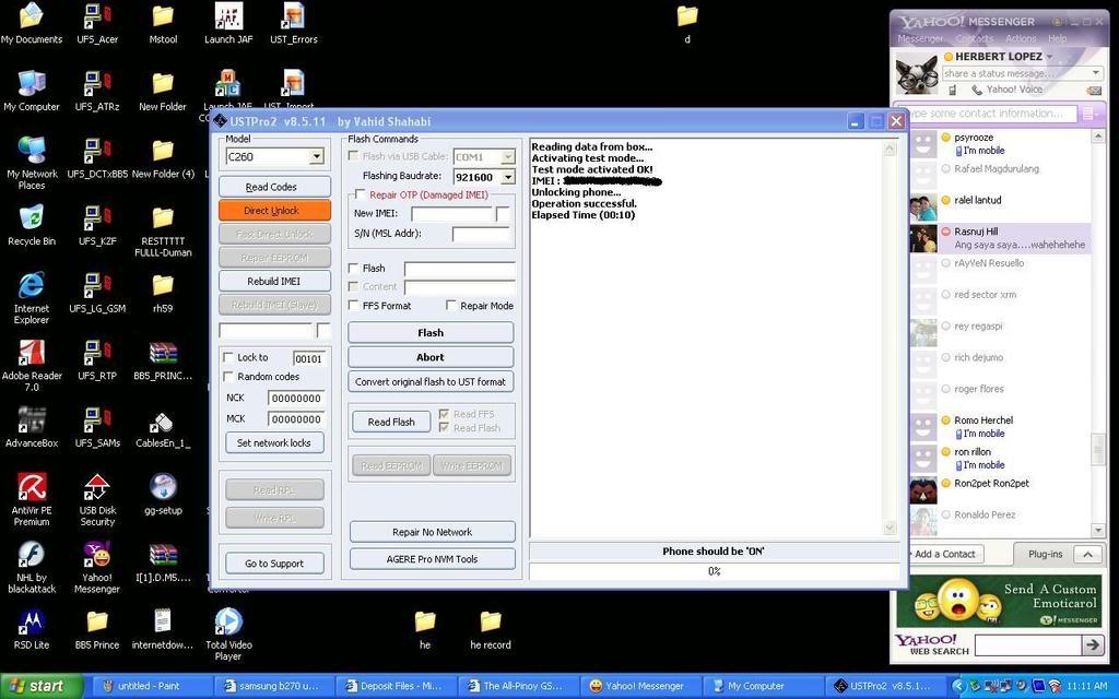 Samsung sgh-B270 unlock done sa Ust Pro2 2