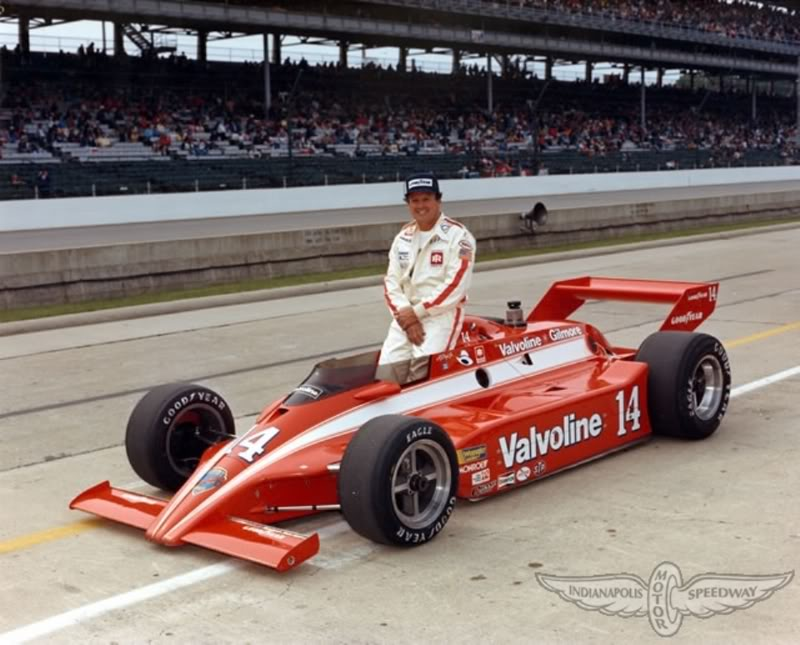 Open Wheel Car of the day. 1981Coyote